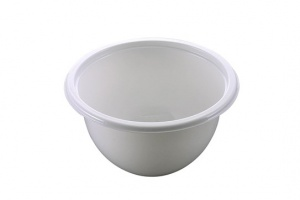 This is a CPET bowl shown in white.