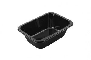 These is a CPET Tray which is dual ovenable.