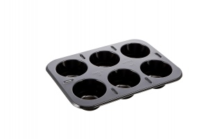 This is a picture of our 6 compartment 2187-6A tray