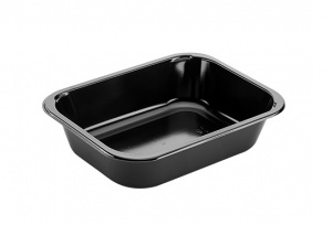 CPET Food Tray 22-1LL is an oven safe, microwavable To Go meal Container perfect for meal prep packaging. If you are looking for where to buy food packaging supplies, CiMa-Pak is the place to go!<br />