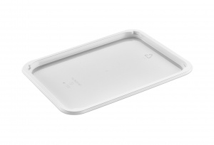 This is a food platter tray which is made of APET material. It is used for cold foods and snacks. Not made for the oven.