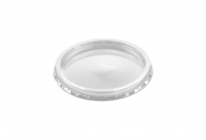 This is an APET lid that is made to cover cold food and snacks. It is not made to be put in the oven or the microwave.