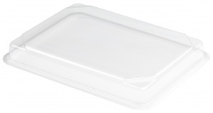 This is a lid made for the 40608 tray, It is clear.