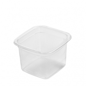 This is an APET tray that is made for cold food and snacks ....