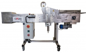 The CiMatic is a meal tray sealing machine that is automatic and made for speeds of 20 food trays per minute. It is the ideal option for sealing CPET oven safe plastic food containers. Meal prep containers are easy to seal with this affordable machine!