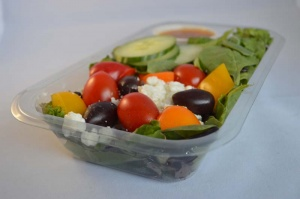 APET Trays for fresh foods, subs and wraps
