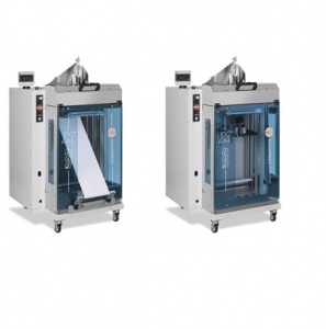 EVO-1 is a automatic polybagger great for packaging bread buns and other small products into hermetic packages.