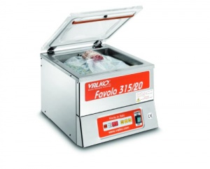 The Favola 315 Tabletop Vacuum Chamber is an ideal size for both the small deli and meat processor.