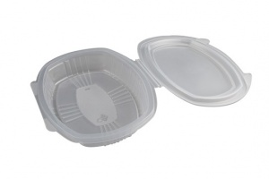 Circular PP bowl used in Microwave ovens.  Ideal for soups and chili.