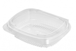 This is an APET Clear Tray with a cover.