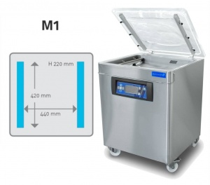 The M1 Vacuum Chamber Floor Model is ideal for production facilities.
