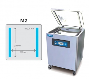 M2 Vacuum Chamber Floor Model
