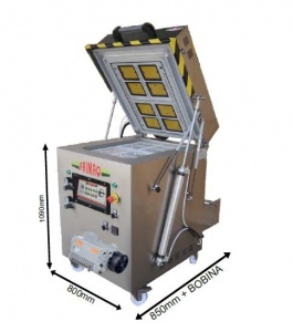 Maxi Chamber Skin Vacuum + Gas with Automatic Cutting