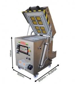 <br /> Ceci est une machine Maxi . Il a vide et de gaz capacités . Il vient de Frimaq . Il est étonnant de conditionner les repas. C'est très simple à utiliser.