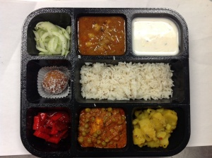 8 Compartment Thali Tray