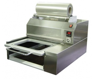 Rapida Semi Automatic Tabletop Tray Sealer for CPET and APET trays