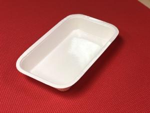 ceci est une barquette faite de matieres premieres renouvelables. Ideal pour les plats cuisines frais et surgeles