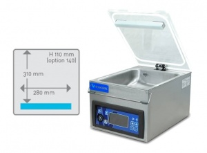 T2 our smallest tabletop vacuum chamber