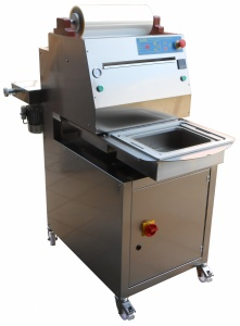 SVR TURN ROTARY MAP - Semi-Automatic Vacuum Tray Sealer