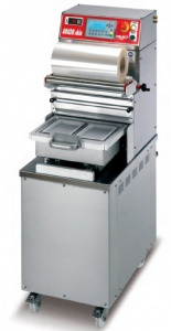 This is one of our smallest skin packaging machines. Made for small output and is very affordable.