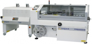Automated L-Sealer with shrink tunnel