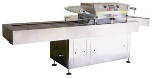 Futura Double Head MAP fully automatic CPET, APET tray sealer