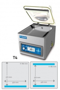 T4 Tabletop Vacuum Chamber