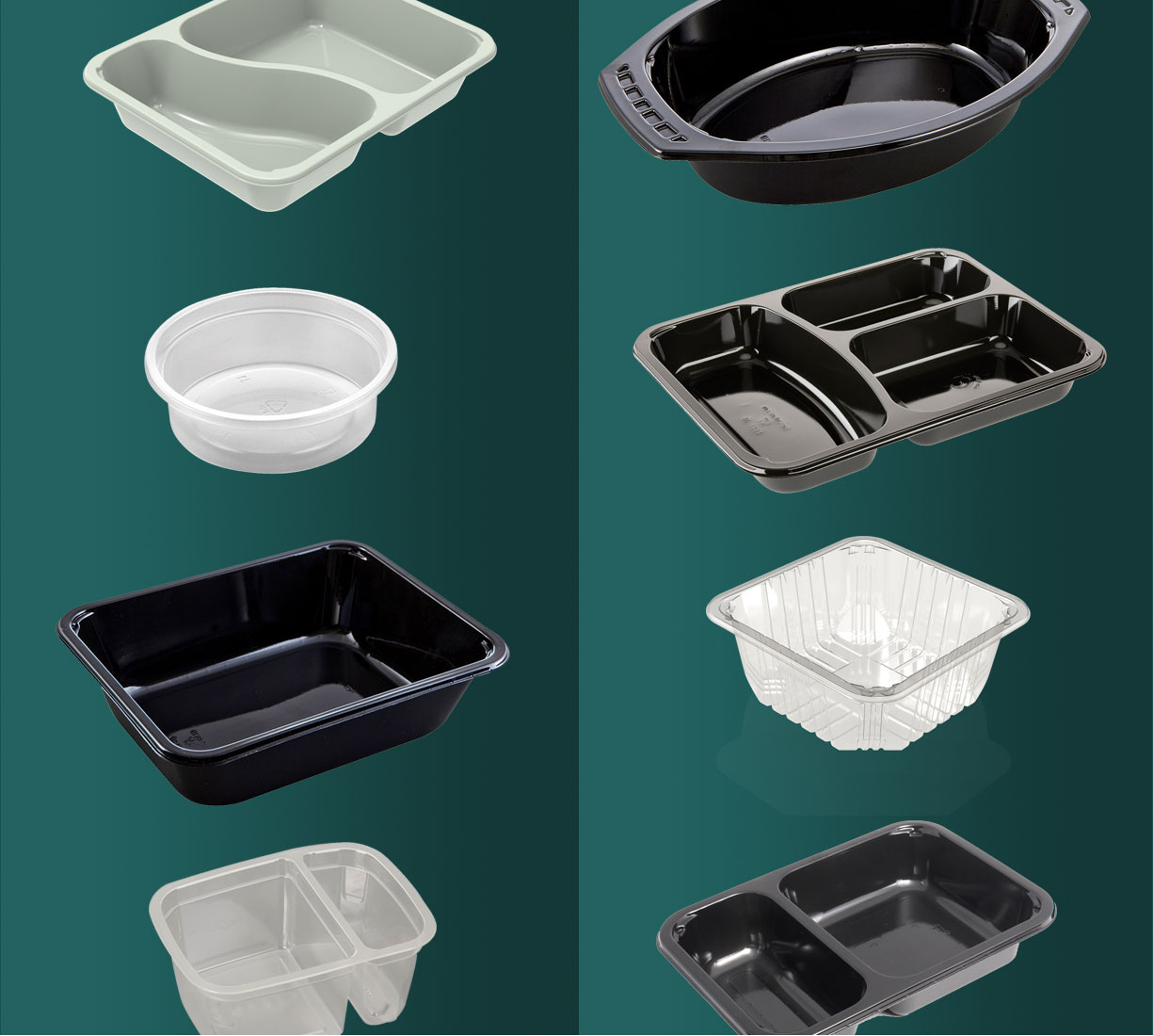 Choose from hundreds of food trays